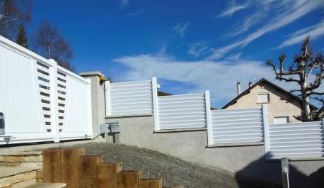 Portail et clôtures PVC Alpes Maritimes Nice Cannes Antibes