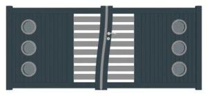 portail battant en aluminium vente sur Bouches du Rhône, Var, Alpes Maritime, Vaucluse