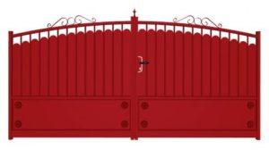 portail battant électrique en aluminium ou portail coulissant électrique en aluminium